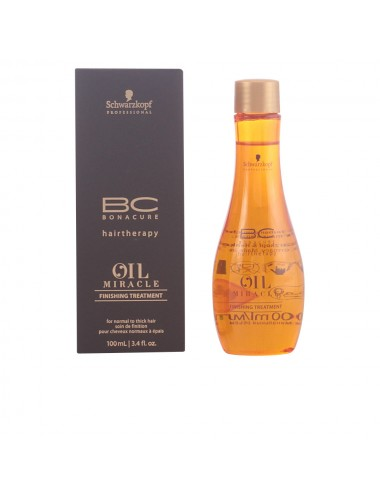 BC OIL MIRACLE finishing...