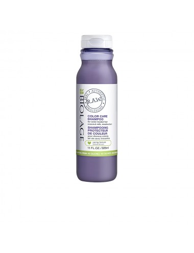 R.A.W. COLOR CARE shampoo...